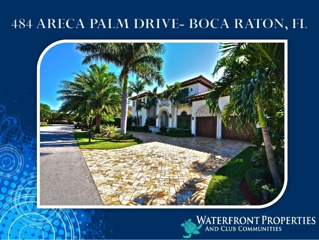 • 5 BEDROOMS • 5 ½ BATHROOMS • 8,321 SQ. FT. • MEDITERRANEAN STYLE • 1/3 ACRE LOT • PROFESSIONALLY DECORATED
