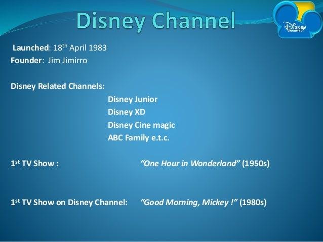 SM Disney Channel's Competitive Strategy Presentation