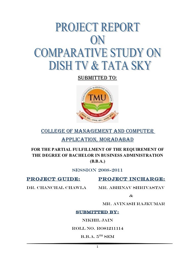 48504678 project-report-on-comparative-study-on-dish-tv-amp-tata-sky