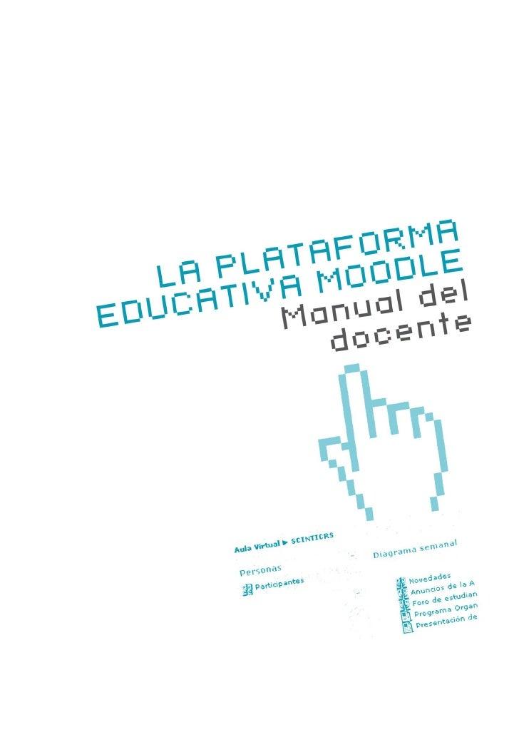 ÍNDICE                                                       Introducción a MoodlePreguntas iniciales                     ...