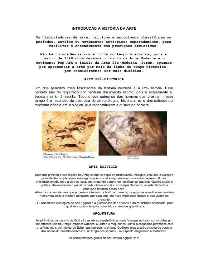 d3bef162306 INTRODUÇÃO A HISTÓRIA DA ARTEOs historiadores de arte