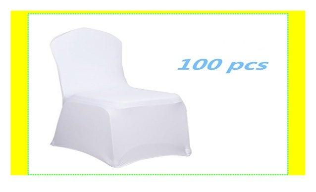 Mctech Schleifenband Stuhlbezuge Stuhlhussen Stretch