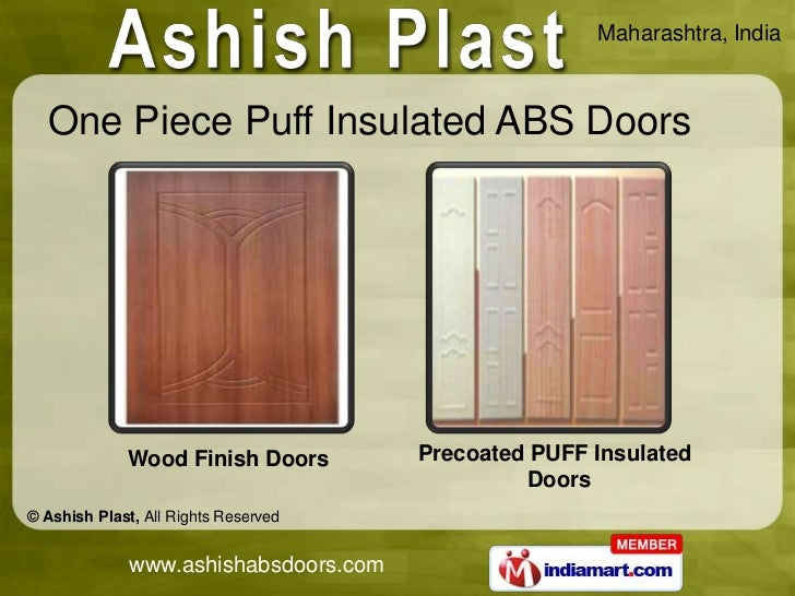 ... 8. Maharashtra India One Piece Puff Insulated ABS Doors ...  sc 1 st  SlideShare & One Piece Puff Insulated ABS Doors by Ashish Plast Pune