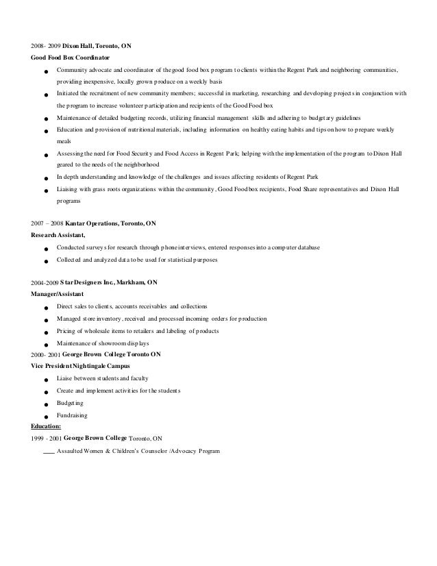 Facility Coordinator Cover Letter