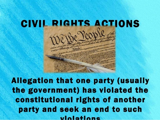 civil and criminal actions Civil procedure is the body of law that sets out the rules and standards that courts follow when adjudicating civil lawsuits (as opposed to procedures in criminal law matters.