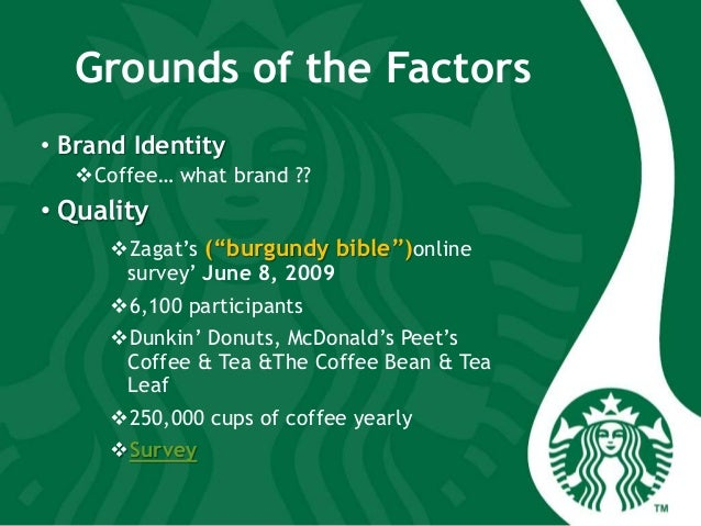 ifas efas for starbucks Case study: starbucks coffee by: kathleen lee grc 411 internal factor analysis summary (ifas) (efas) external strategic.