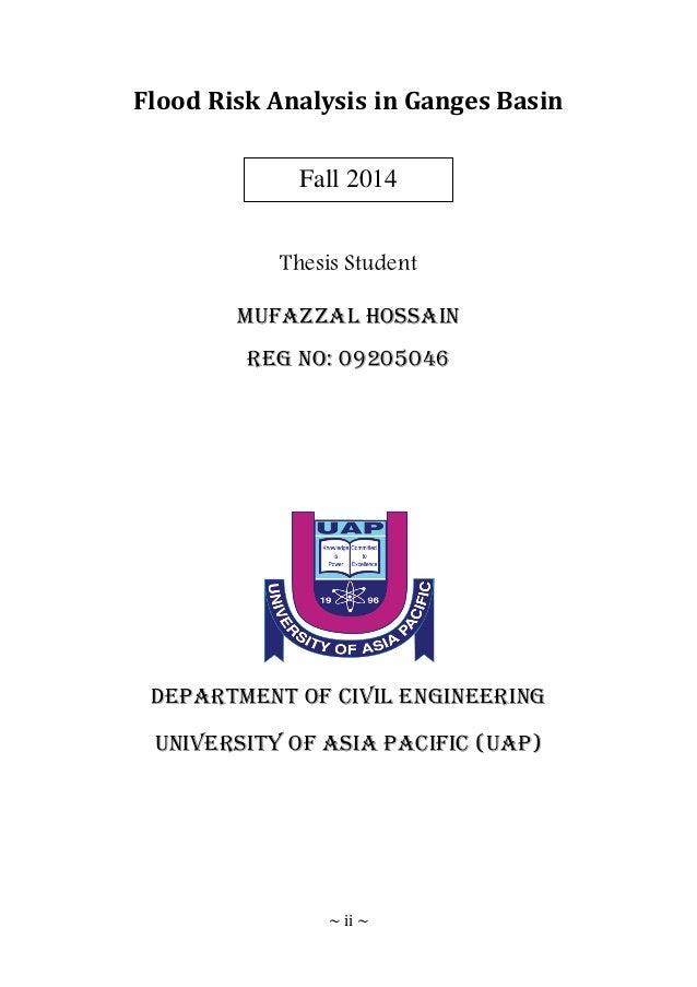 Dissertation proposal risks
