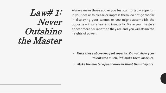 48 laws of power cheat sheet