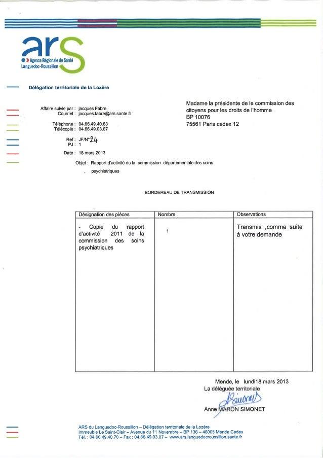 48 rapport activité cdsp 2011