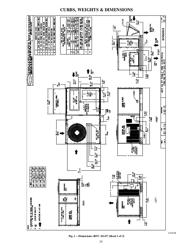 carrier 48tc 48 tc 04 16 03pd paquete carrier furthermore wiring homeline service panel moreover w7220 conversion w7220 conversion diagram free download