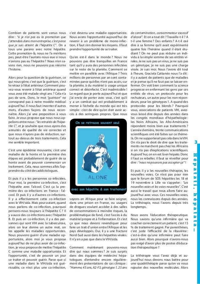 Journal L'Hépatant N°49 Octobre 2010 Slide 3