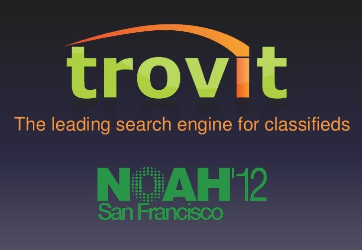The leading search engine for classifieds