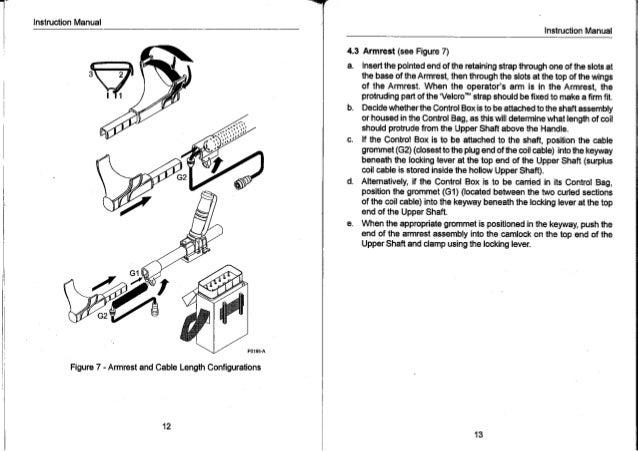 Instruction Manual Minelab Golden Hawk Metal Detector