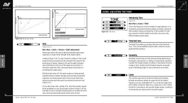 Instruction Manual Minelab Explorer S & XS Metal Detectors