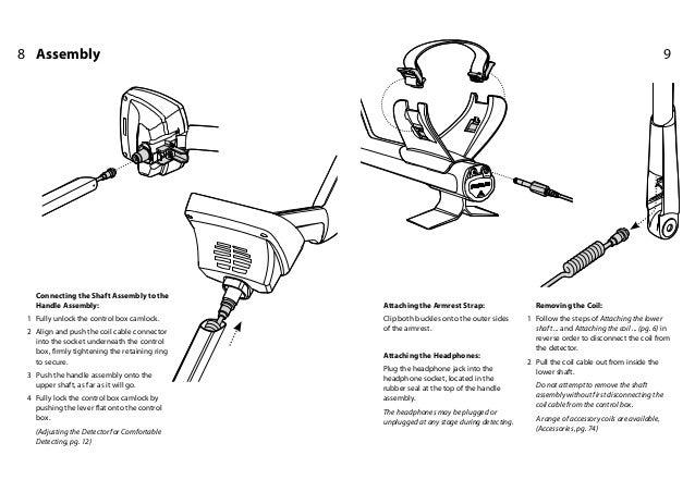 Instruction Manual, Quick Start Guide, Minelab Explorer SE