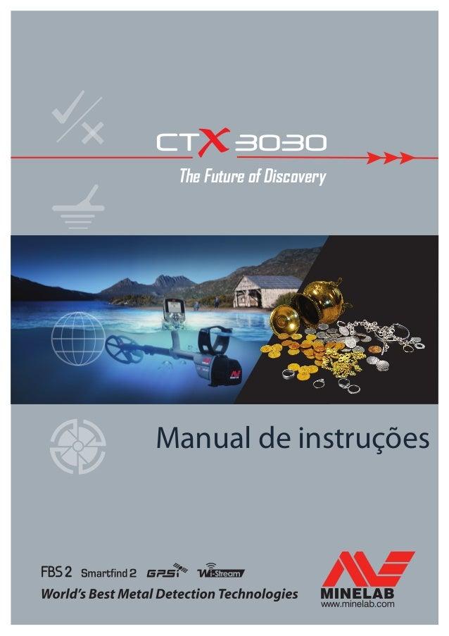 Manual de instruções The Future of Discovery