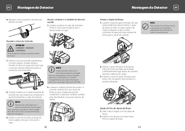 Instruction Manual, Getting Started Guide Minelab GPZ 7000