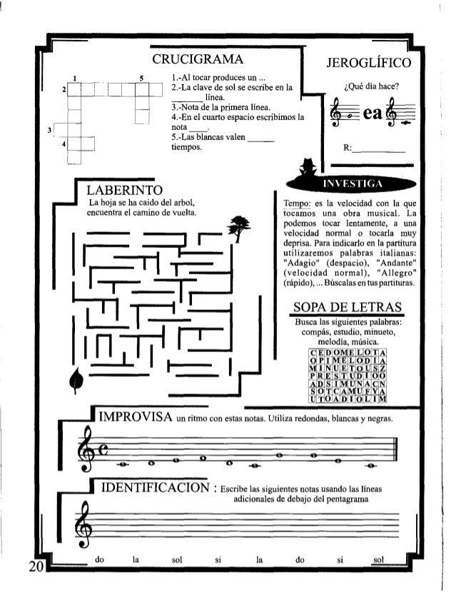 Lujo Hojas De Trabajo De Solfeo Para Niños Colección - hojas de ...