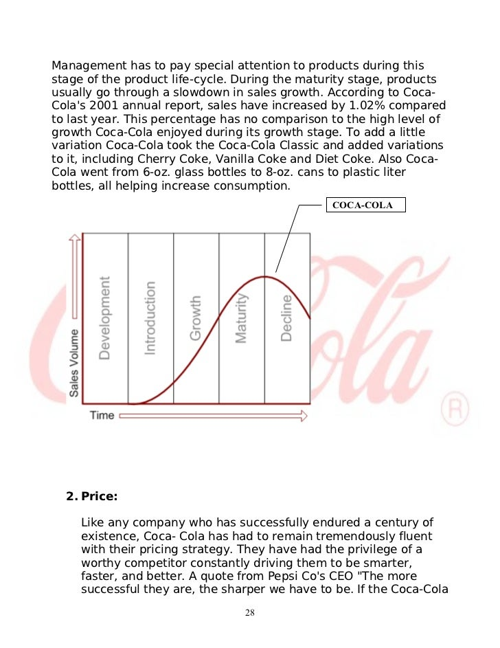 Coca Cola Product Life Cycle Essays On Love - image 4