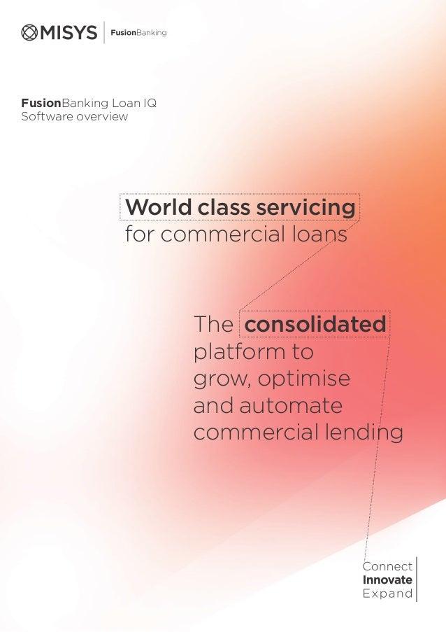 Misys FusionBanking_Loan_IQ