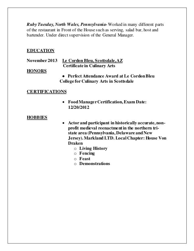 gary kahler resume 81615 with retail and hobbies