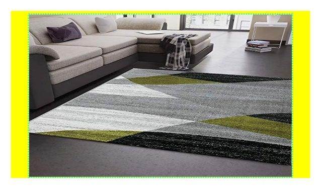 VIMODA Wohnzimmer Teppich Modern Geometrisches Muster ...
