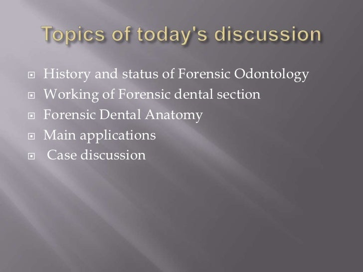Forensic science section 6 lq