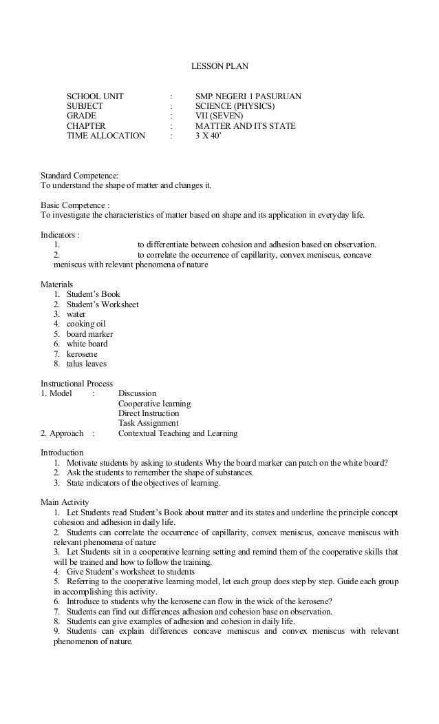 Science Experiment with Chromatography Lesson Plan for 3rd - 8th ...
