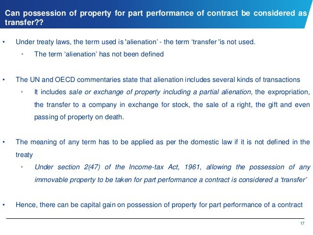Gift Of Immovable Property By A Company