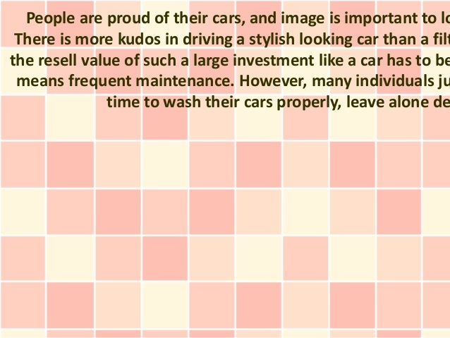 People are proud of their cars, and image is important to lo There is more kudos in driving a stylish looking car than a f...