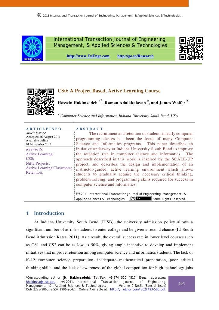 2011 International Transaction Journal of Engineering, Management, & Applied Sciences & Technologies.           2011 Inter...