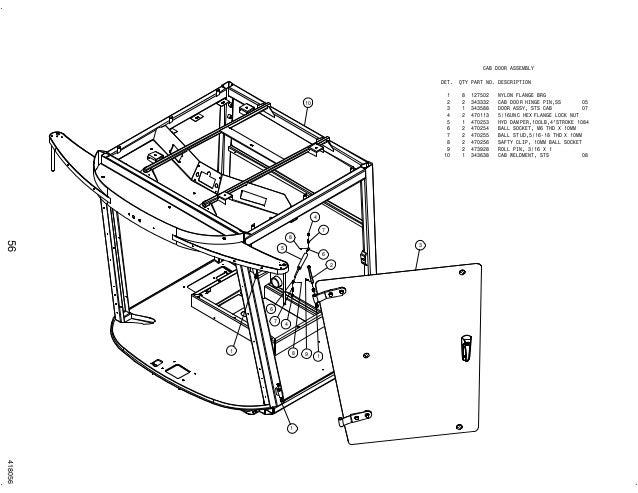 Hagie UPFront sts 12 combo parts manual 2008