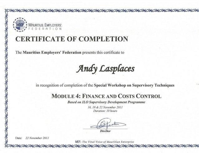 mef completion certificate slideshares proximos
