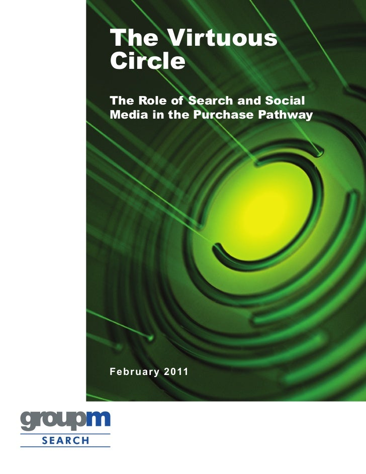 The VirtuousCircleThe Role of Search and SocialMedia in the Purchase PathwayFe bruary 2011