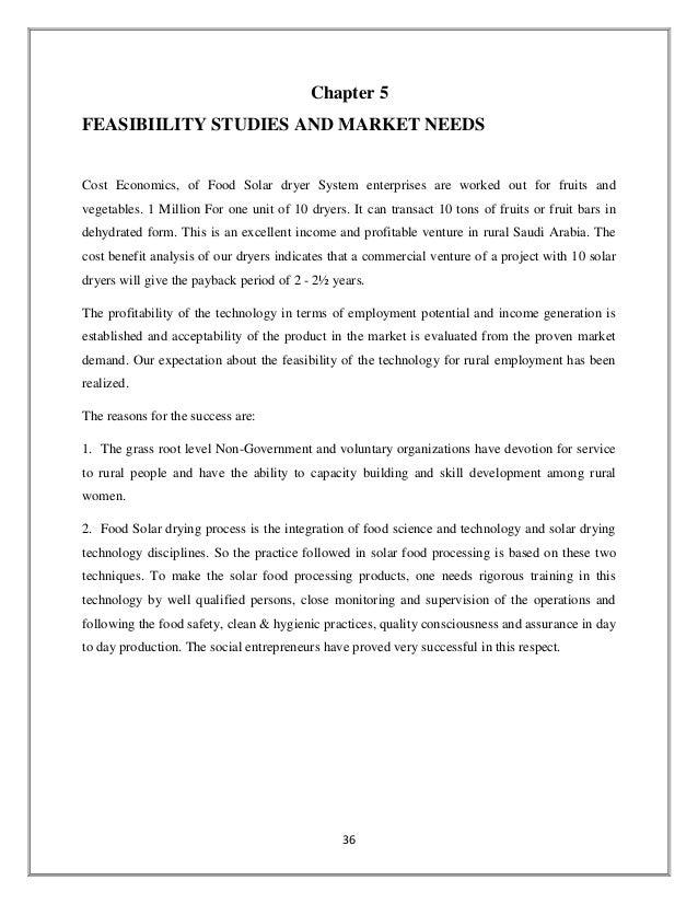 solar dryer project report pdf