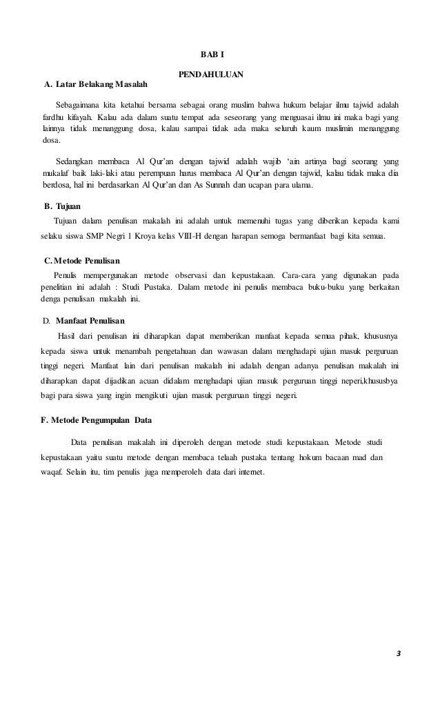 49577259 Contoh Makalah Pendidikan Agama Islam