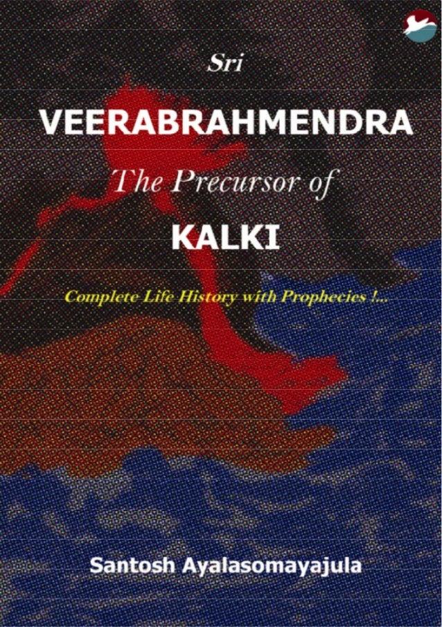 VEERABRAHMENDRA The precursor of KALKI Complete Life history With Prophecies! …