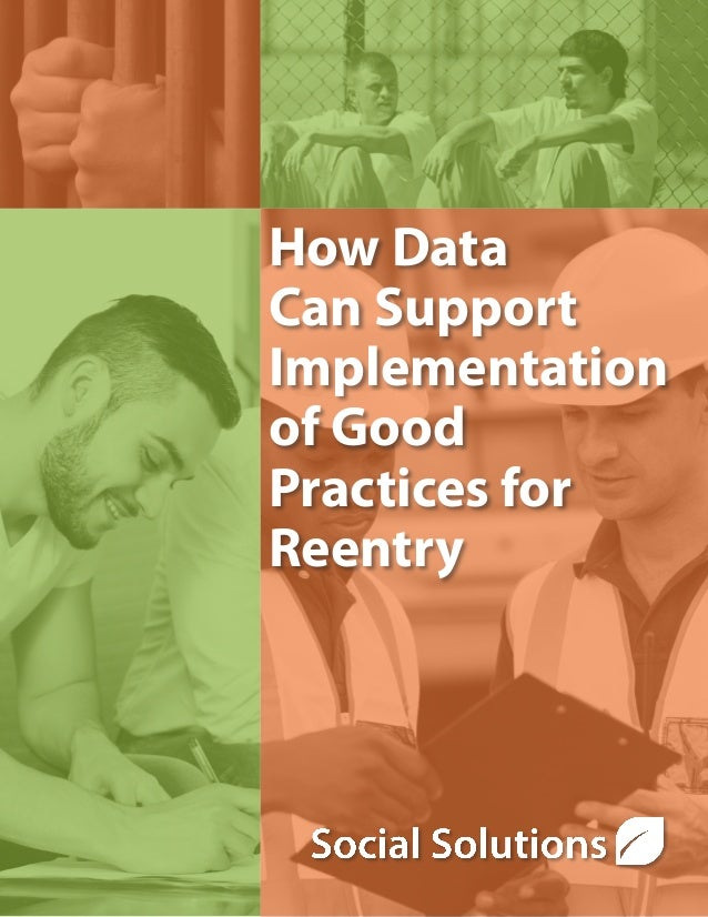 How Data Can Support Implementation of Good Practices for Reentry