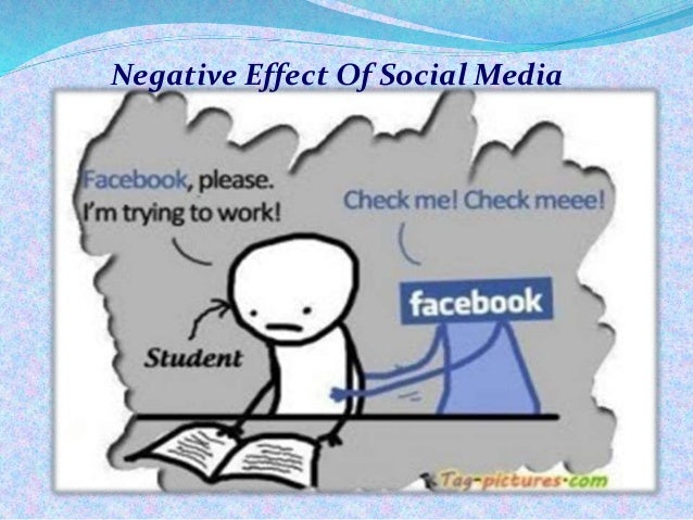 what are the effects of social media on students