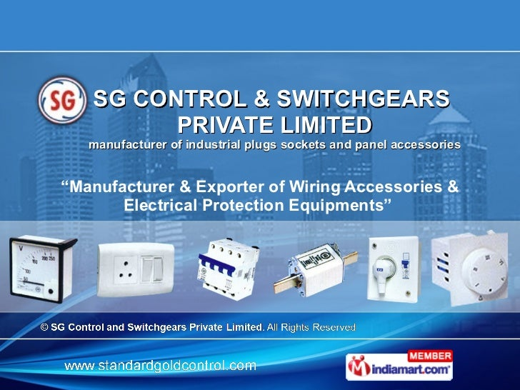 SG Control And Switchgears Private Limited Gurgaon India