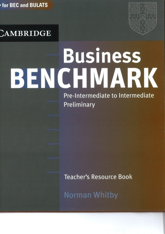 Business Benchmark Upper Intermediate Bec Vantage Edition Students Book