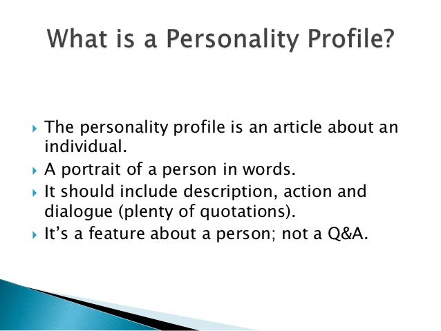 Delightful SlideShare Intended For How To Write A Profile