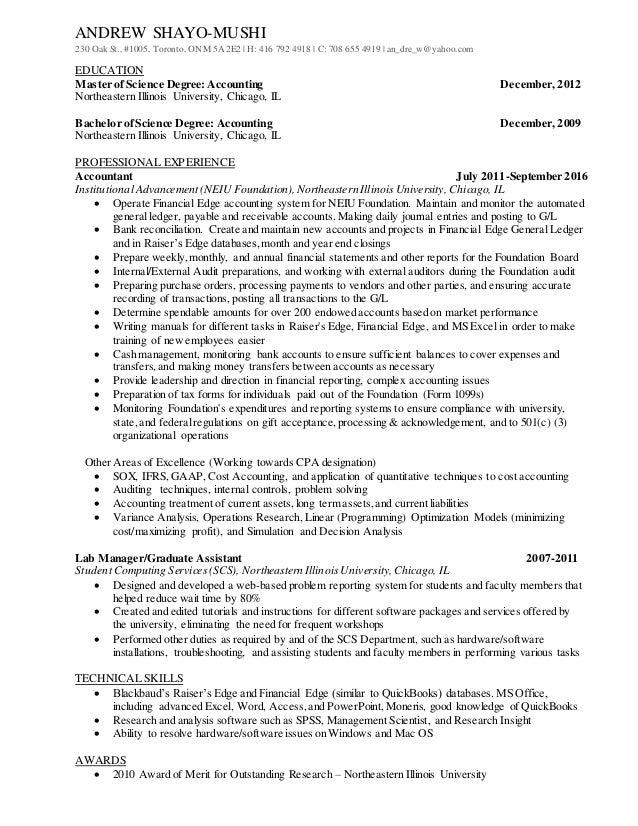 Resume - Andrew