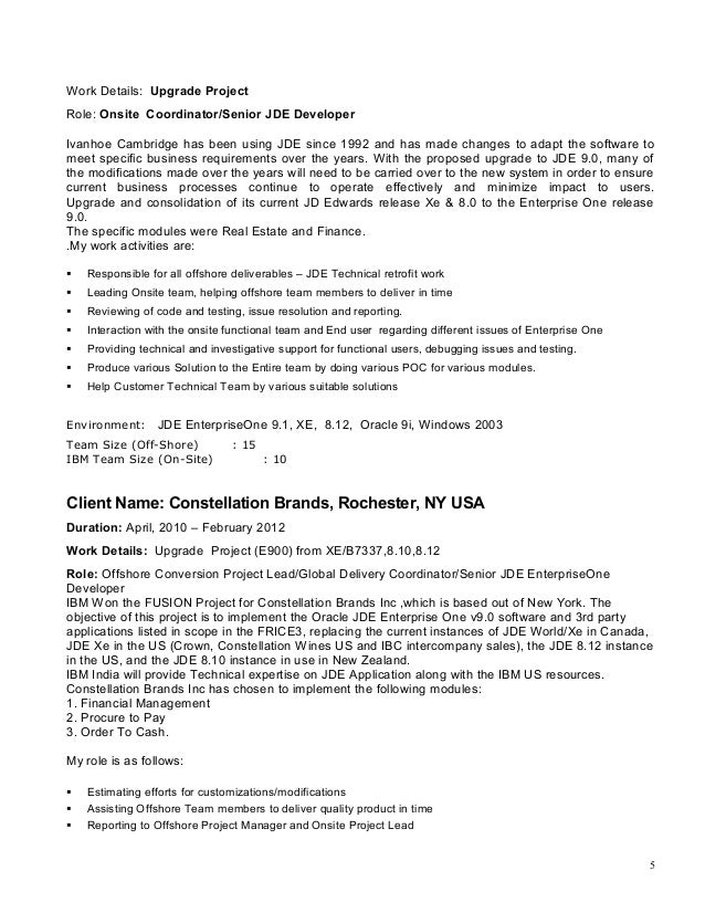 Order resume online montreal