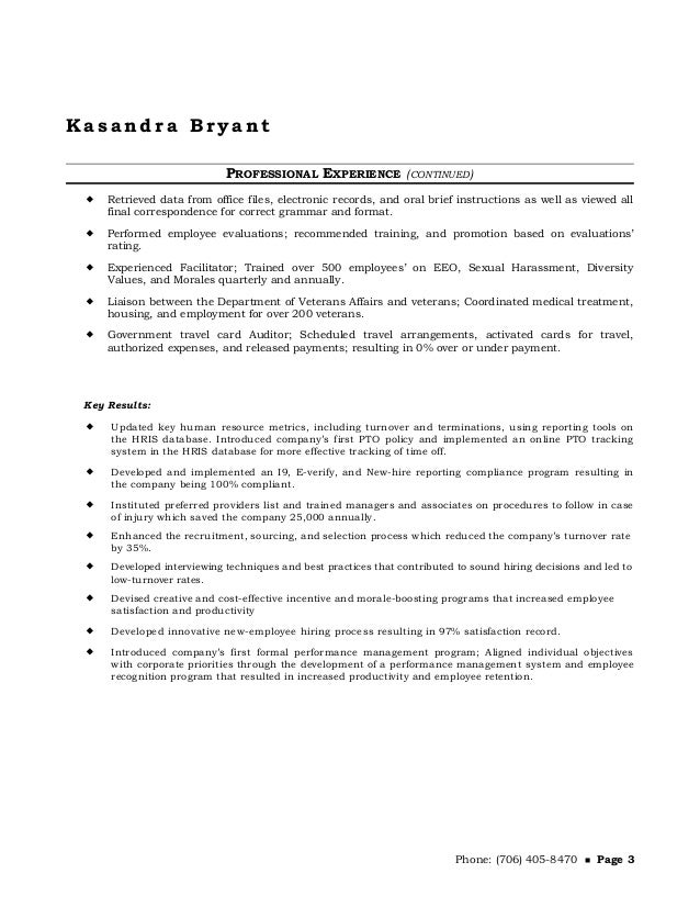 kasandra-bryant-hr-resume-3-638 Veterans Affairs Resume Format on employment resume, federal civil service resume, agriculture resume, risk management resume, sample veteran resume, gsa resume, counseling resume, government resume, emergency dispatcher resume, information technology resume, irs resume, vet resume, financial aid resume, district attorney resume, international relations resume, navy veteran resume, insurance resume, work study resume, administration resume,