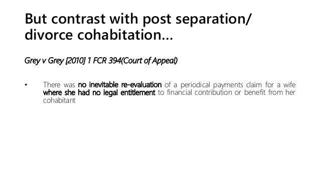 Cohabitation Powerpoint Presentation
