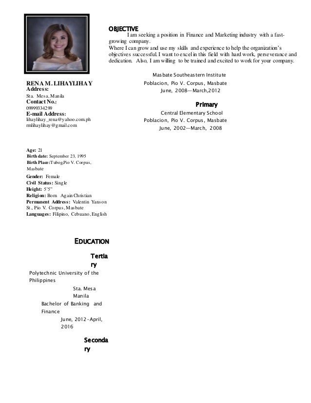 new applicant s renas resume