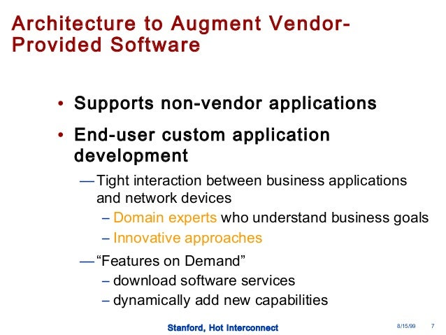 Open programmable architecture for java enabled network for Java 7 architecture