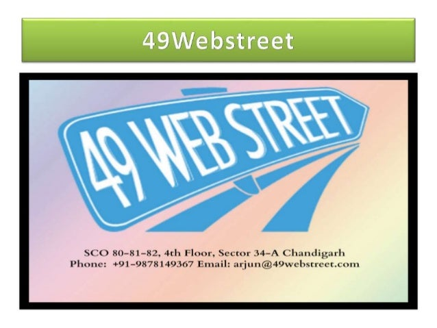 49Webstreet is a full service web design & development and online marketing company providing compelling web and IT servic...