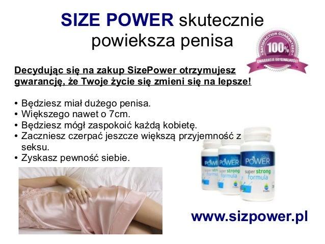 SIZE POWER skutecznie powieksza penisa Decydując się na zakup SizePower otrzymujesz gwarancję, że Twoje życie się zmieni s...